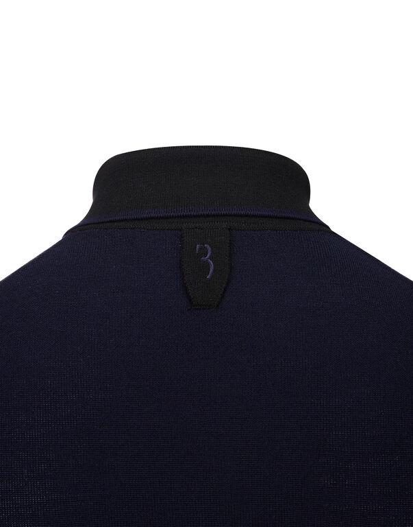 Pullover Polo-Neck LS Giglio