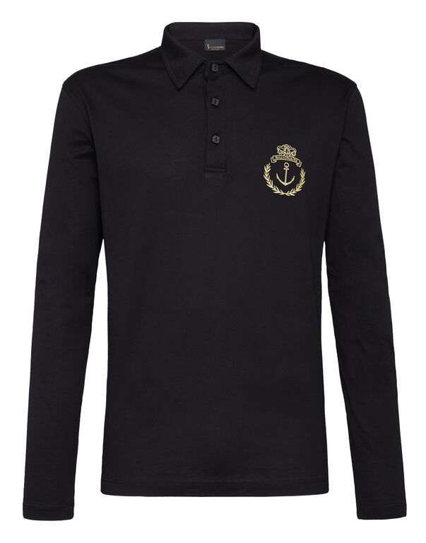 Polo shirt LS Members only