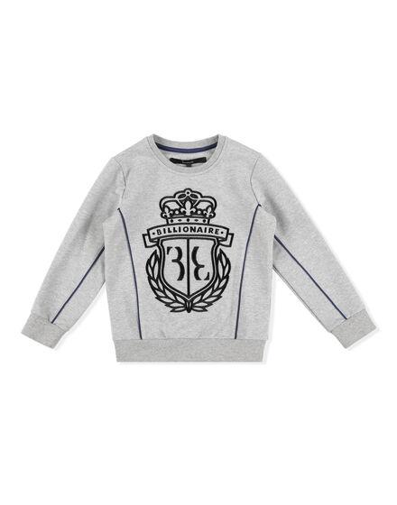 Sweatshirt LS Crest