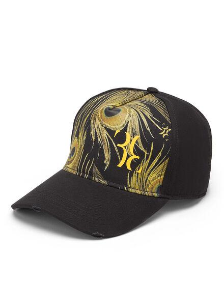 Visor Hat Feathers