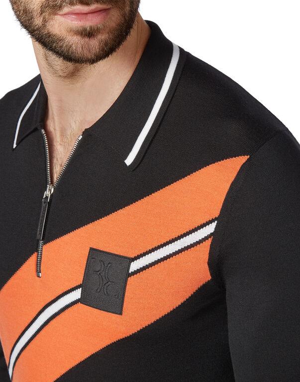 Pullover zip mock Cars Racing