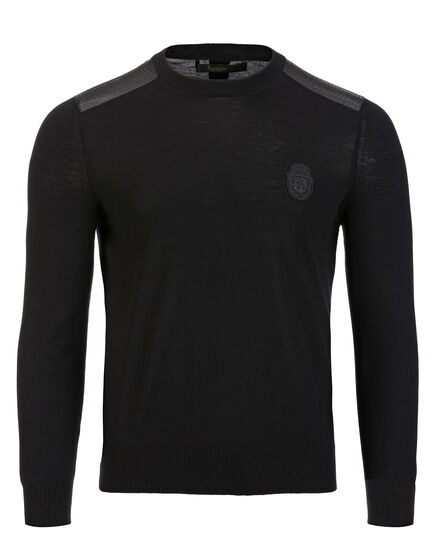 Pullover Round Neck LS Buding