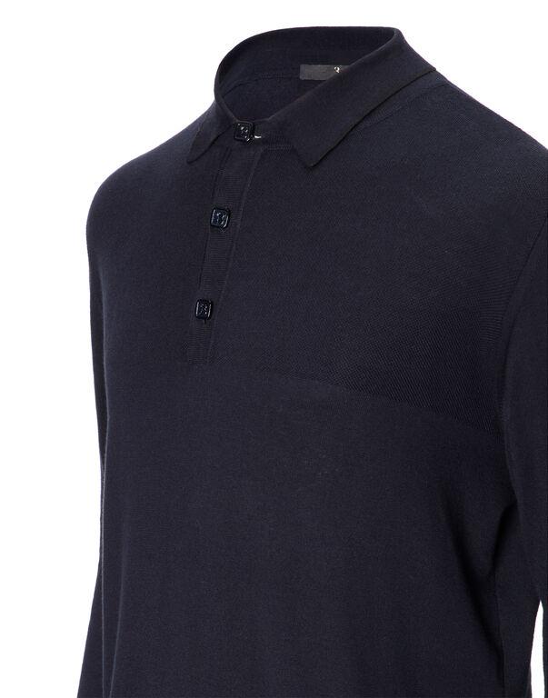 "Pullover Polo-Neck LS ""Edouard"""