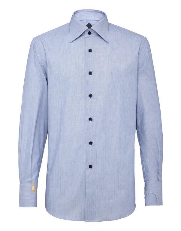 Shirt Silver Cut LS/Flavio Original