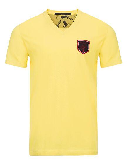 T-shirt V-Neck SS Adams