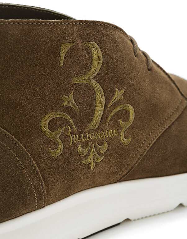 "Lo-Top Sneakers ""Baroque man"""