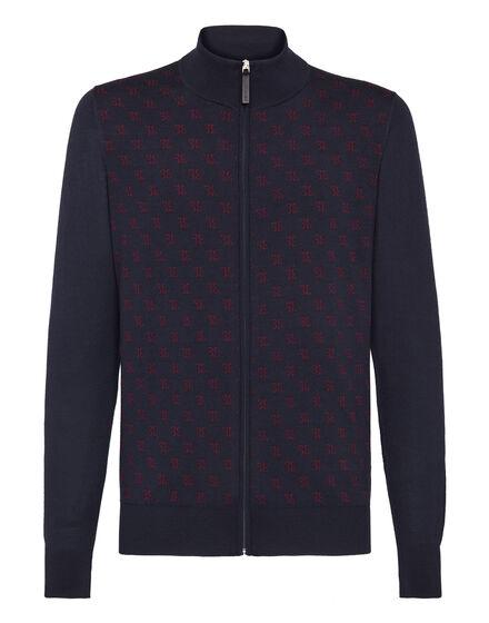 Pullover full zip Double B