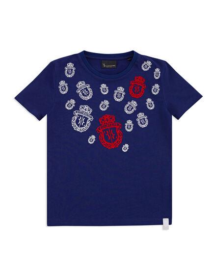 T-shirt Round Neck SS Crest