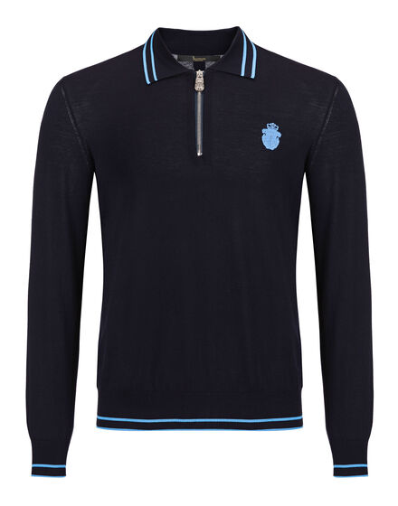 Pullover Polo-Neck LS Twan