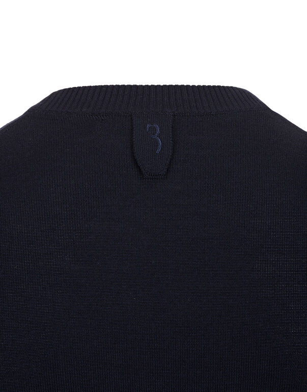 Pullover Round Neck LS All over BB