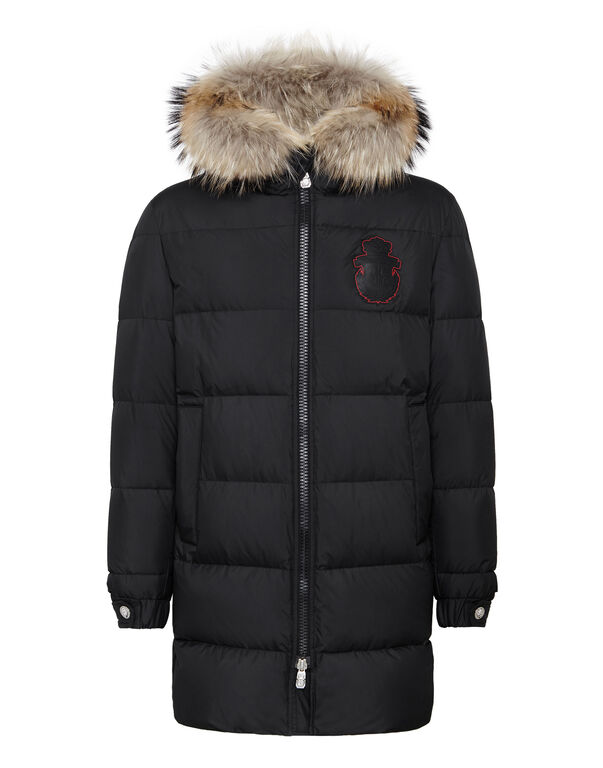 Parka with Fur Luxury