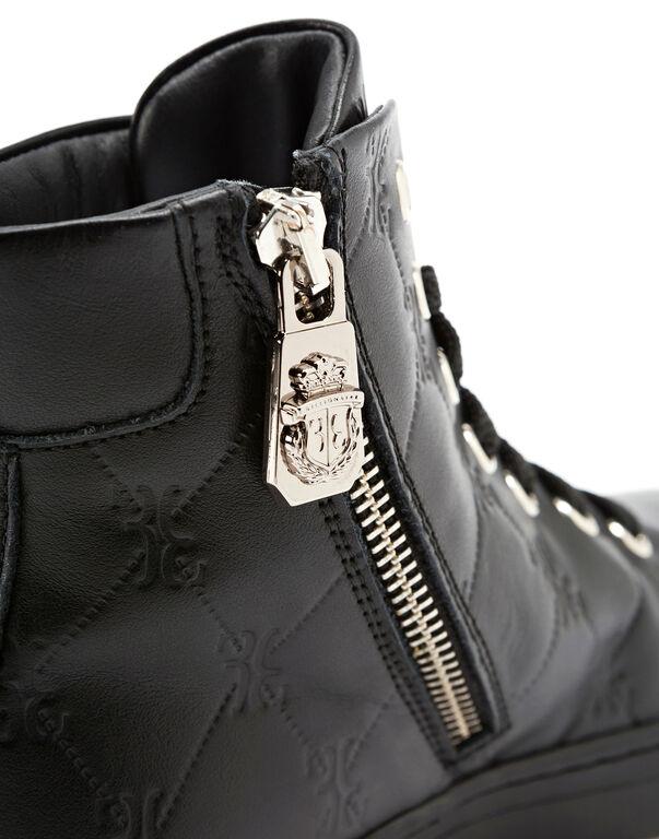 "Hi-Top Sneakers ""Maurice"""