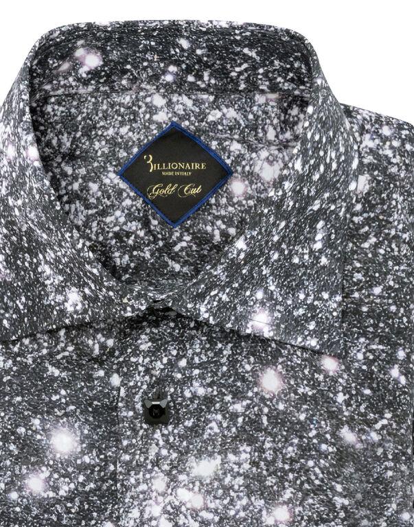 Shirt Gold Cut LS Flavio/Watch Crystal