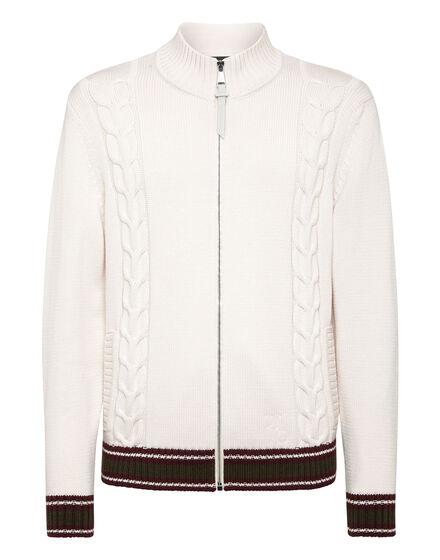 Merino wool Pullover full zip
