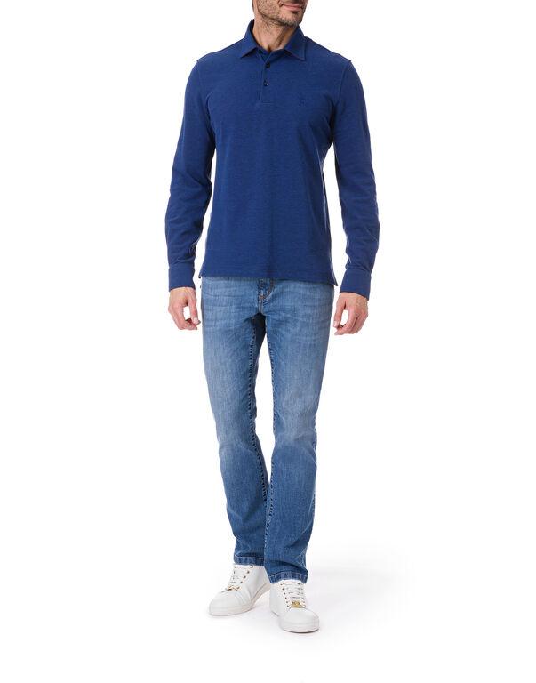 "Polo shirt LS ""Stoke"""