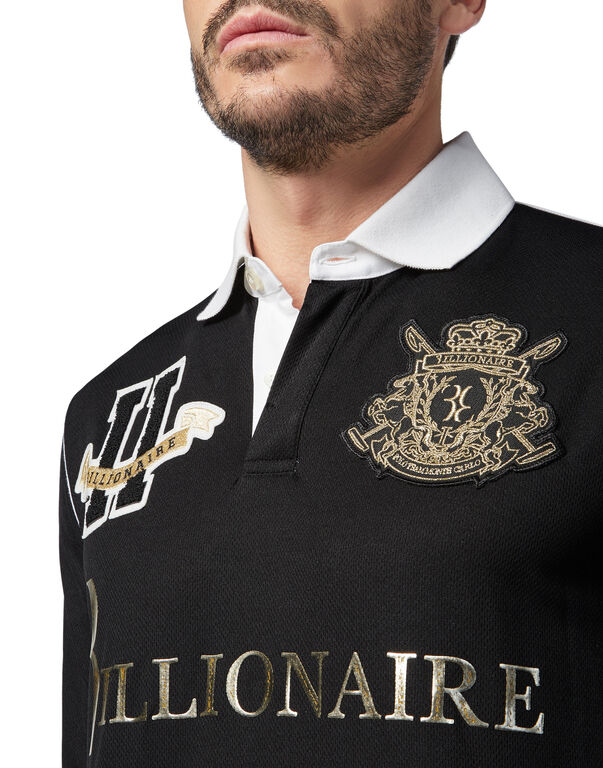 Polo shirt LS Polo Team Montecarlo