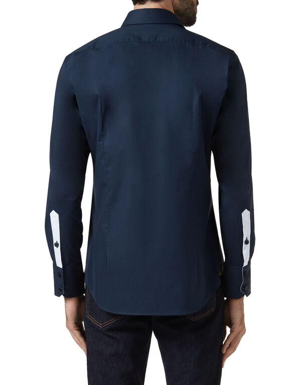 Shirt Silver Cut LS / Milano Crest