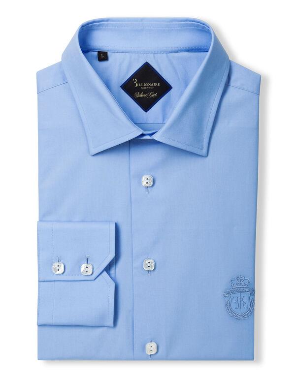 "Shirt Silver Cut LS ""Clovis"""