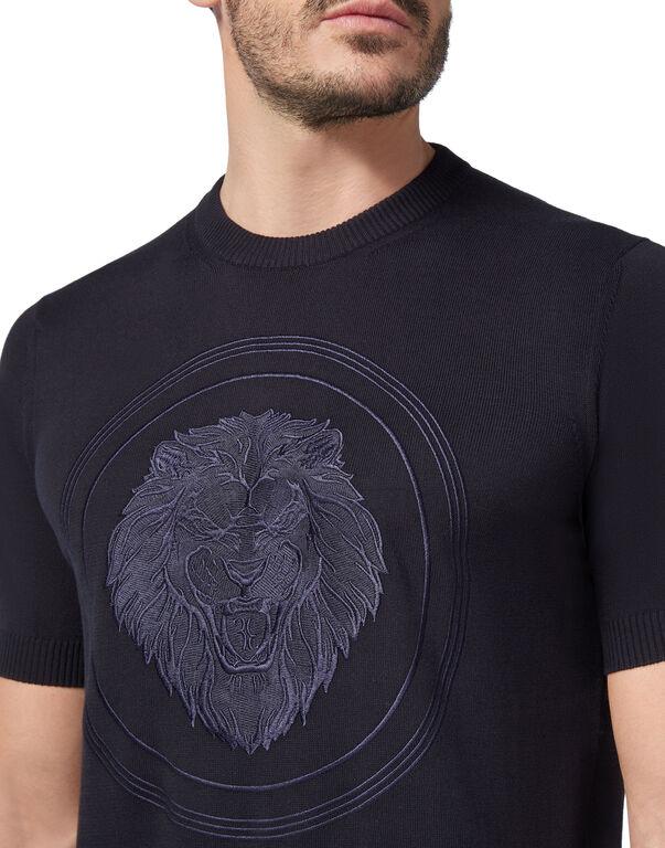 Pullover Round Neck SS Lion