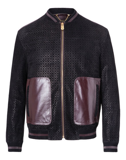 Leather Bomber Attitude