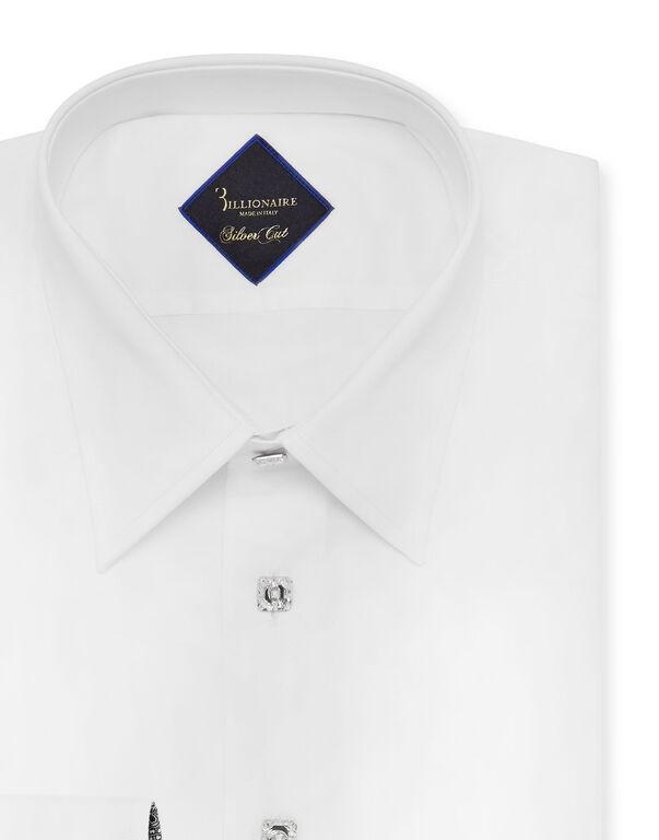 Shirt Silver Cut LS/Milano Paisley