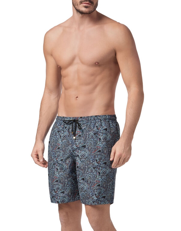Beachwear Long Trousers Paisley