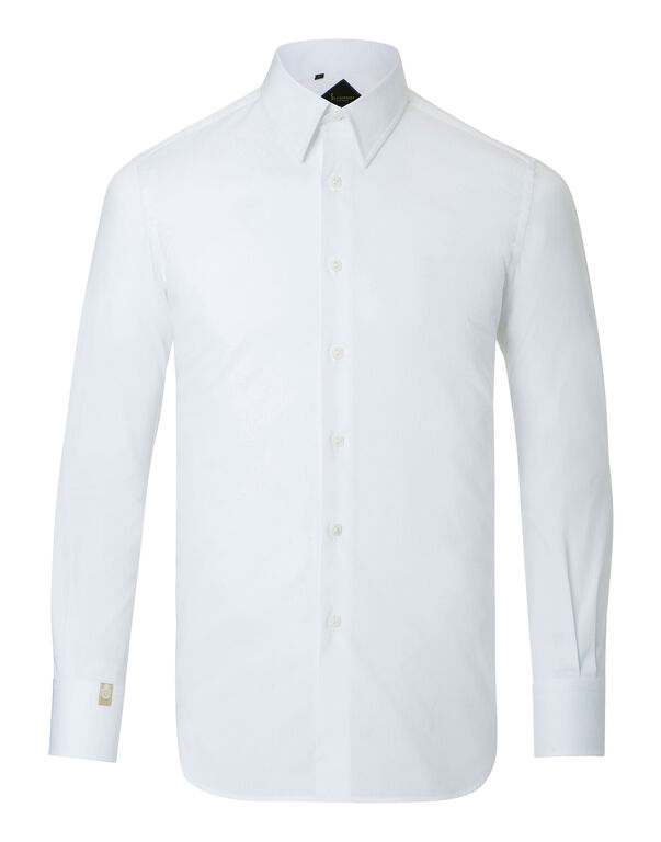 "Shirt Silver Cut LS ""Double B"""