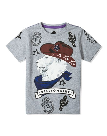 T-shirt Round Neck SS Royal Lion