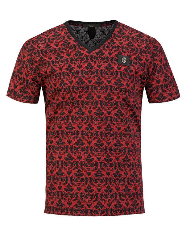 """T-shirt V-Neck SS """"Tiger"""""""