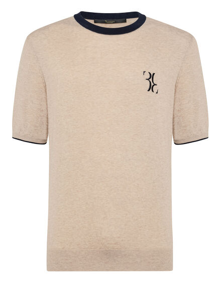 Pullover Round Neck SS Double B