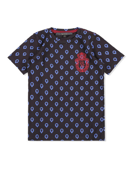 T-shirt Round Neck SS Royal One
