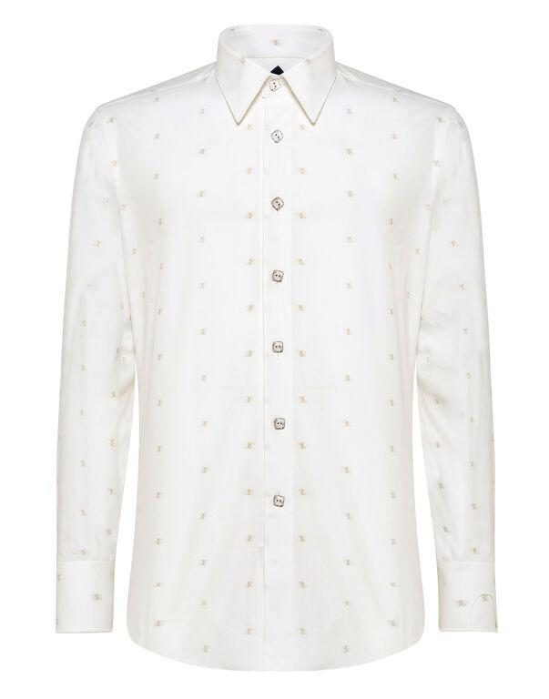 Shirt Silver Cut LS Milano/Watch Double B
