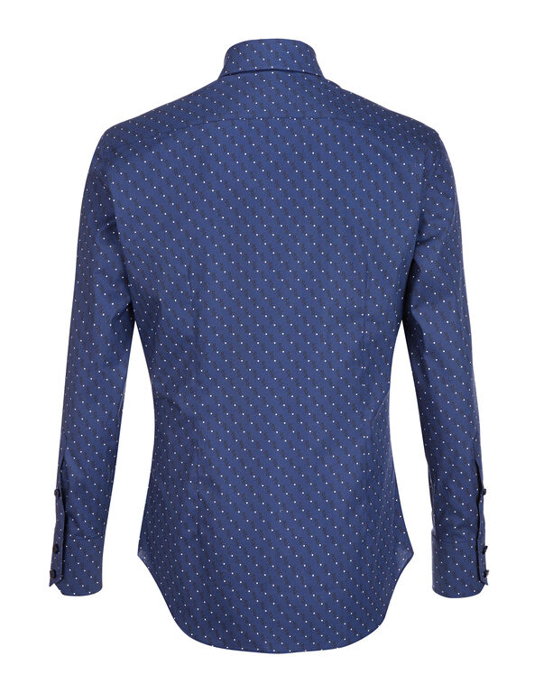 Shirt Silver Cut LS / Milano All over BB
