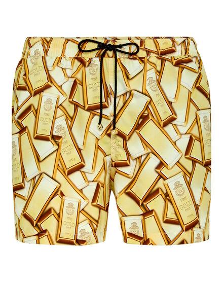 Beachwear Short Trousers Gold