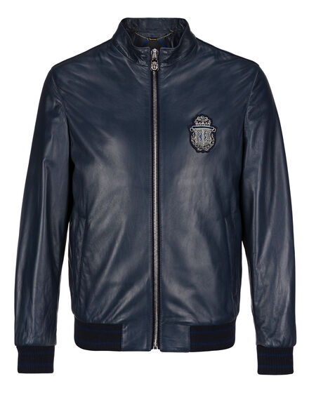 Leather Bomber Zavier