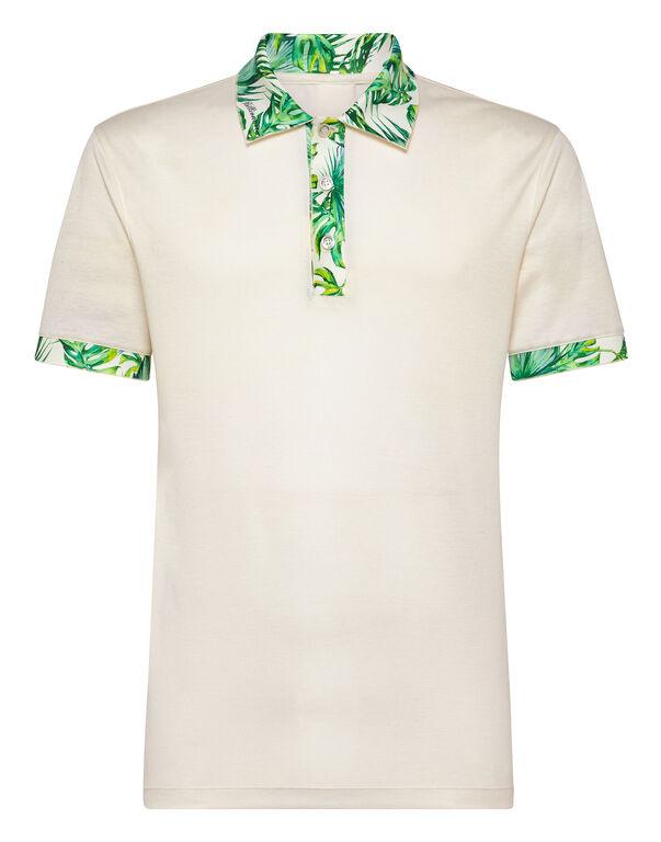 Polo shirt SS Palms
