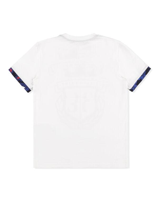 "T-shirt Round Neck SS ""White Harm"""
