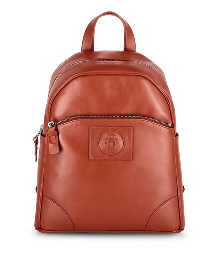 Leather Backpack Crest