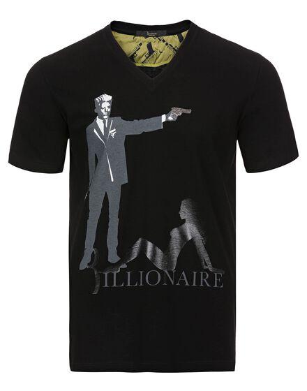 T-shirt V-Neck SS Bushman