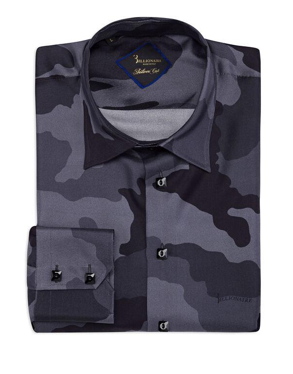 Shirt Gold Cut LS/Milano Camouflage