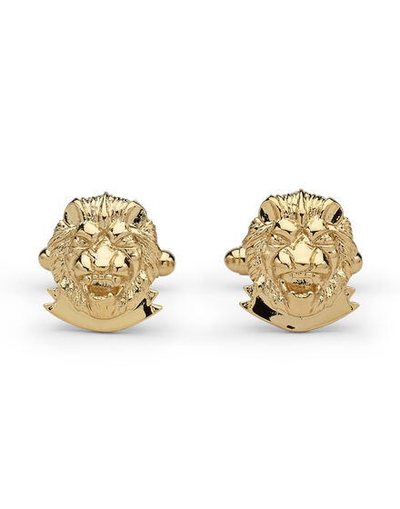 metal cufflinks Lion