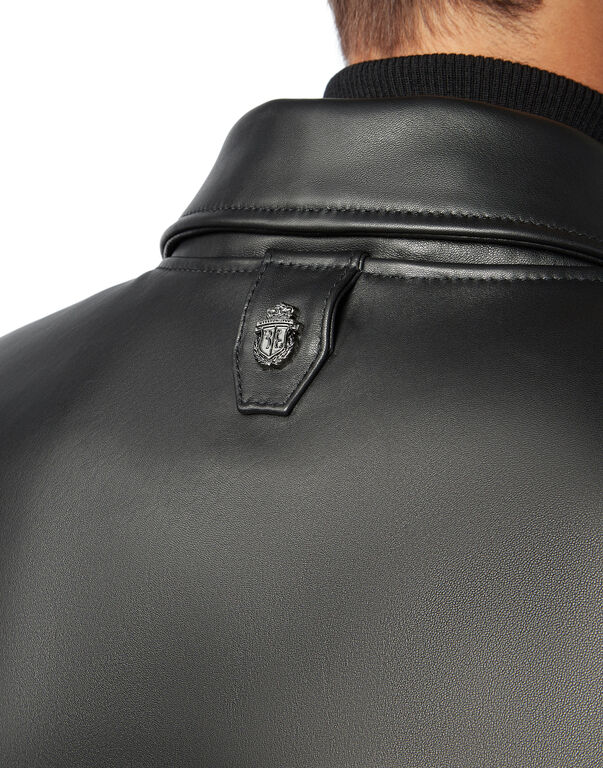 Leather Bomber Logos