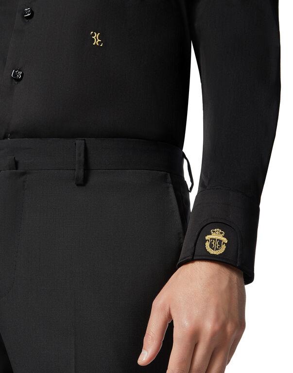 Shirt Gold Cut LS Milano/Watch Double B