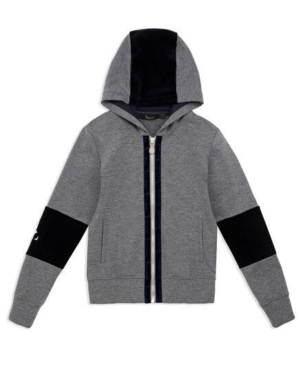 Hoodie Sweatjacket Double B