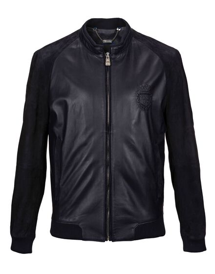 Leather Bomber Austen