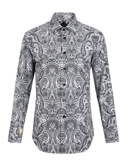 Shirt Silver Cut LS Damian