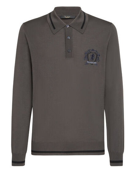 Pullover Polo-Neck LS Lion
