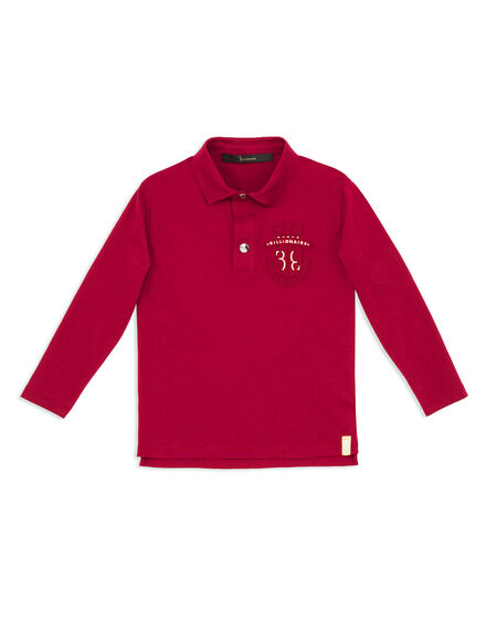 Polo shirt LS Embroidery BB