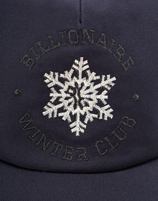 Visor Hat Winter Club