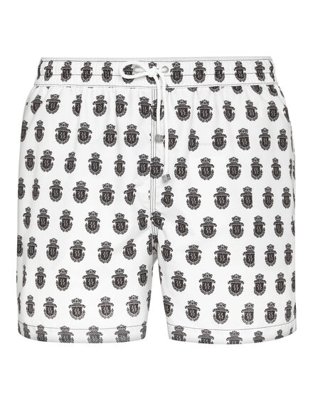 Beachwear Short Trousers All over Crest